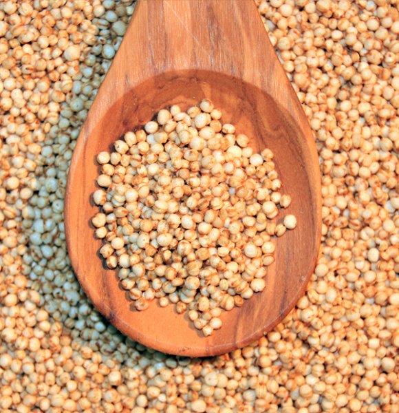 Quinoa gepufft 150g weiß glutenfrei
