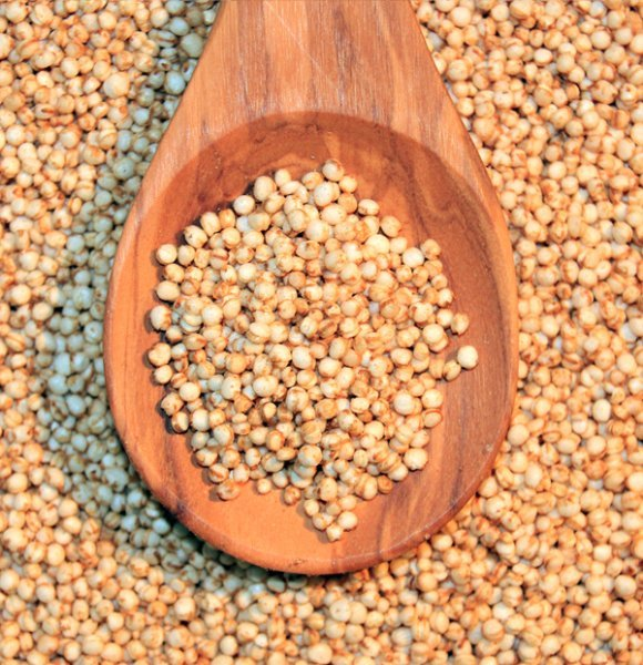 Quinoa gepufft 1kg weiß glutenfrei